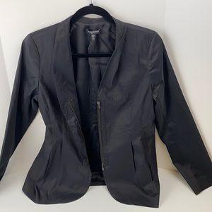 Eileen Fisher petite zip blazer Medium